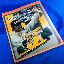 Indianapolis Indy 500 HUNGNESS RACE YEARBOOK Vintage 1974 EUC Johnny Rutherford