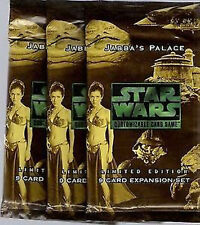 STAR WARS CCG : JABBAS PALACE BOOSTER PACK LOT (12) PACKS