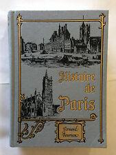 PARIS HISTOIRE MONUMENTS ADMINISTRATION 1977 FERNAND BOURNON ILLUSTRE
