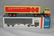 1970's Lion Car #59 DAF 2800 Trekker MET Eurotrailer, Kartonnagefabriek, NMIB