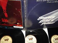 ELP EMERSON LAKE & PALMER ~ 3 lp + BONUS CD 1974 EX-NM