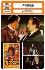 FICHE CINEMA : LA GORGONE - Lee,Cushing,Shelley,Fisher 1964 The Gorgon