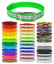 "SportDOG Replacement Dog Collar Strap 3/4"" wide - Reflective, Solid and Patterns"