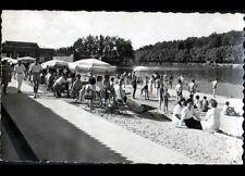MELUN (77) TERRASSE de la PLAGE animée en 1951
