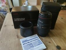 Sigma 70-300mm f4-5.6 APO DG Macro For Nikon Digital & Film Cameras-Black