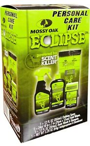 Hunting Personal Care Kit Mossy Oak Scent Killer Eclipse Get Ready for the Hunt!