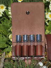 LEATHER CARTRIDGE  POUCH BAG FOR THE CONNOISSEURVSHELLS HUNTING SHOT
