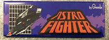 Astro Fighter Arcade Game Marquee Fridge Magnet