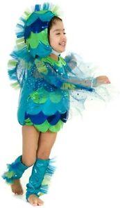 Princess Paradise Baby Beta Fish Bodysuit Costume Blue/Green 12-18 M #4153PP