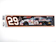 Kevin Harvick #29 Goodwrench Bumper Sticker/Strip (Nascar)(Wincraft)