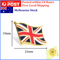 1X British Flag Pin, UK / Great Britain / England Lapel Enamel Pin Badge