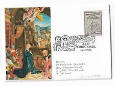Austria cover, stamp postmarked Christkindl 24.12.1985