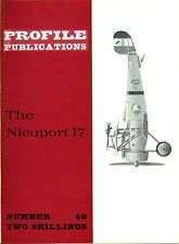 NIEUPORT 17: PROFILE #49/ 12 EXTRA PAGES+A3 COL GRAPHIC/ NEW PRINT FACSIMILE ED