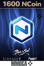 NCSoft NCoin Card 1600 - NCSoft Official Code - PC Digital Code - EU