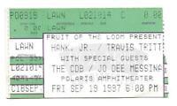 1997 Hank Williams Jr. Travis Tritt The CDB Jo Dee Messina Concert Ticket Stub!