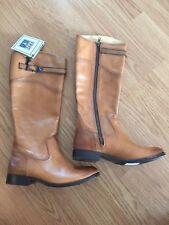 NEW Frye Women Tan Brown Riding Boots 8.5 Popular