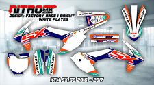 NitroMX Graphic Kit for KTM SX 50 SX50 2016 2017 16 17 Decals Stickers Motocross