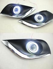 Superb COB Fog Lights k Source Angel Eye Bumper Cover For Nissan Versa 2015-2018