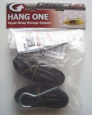 Gear Up Hang -1 Kayak Strap Storage System, Black