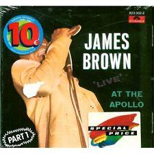 CD James Brown- live at apollo 042282300225