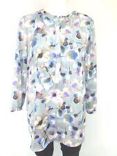 NYDJ Túnica para Mujer Blusa Talla 36 S Varios Colores Patrón Otoño Fields Np