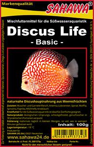 Frostfutter Diskusfutter Life-Basic- 5x100g Blister unsere Nr.1 für Diskusfische
