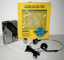 "AIWA HS-F07 Auto-Reverse Stereo Cassette Recorder - ""Back to the future"" Walkman"