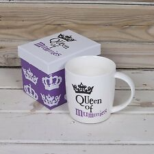The Bright Side Queen of Mummies Mug White New Design