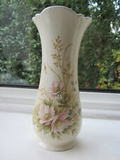 "ROYAL WINTON 6.5"" Vase  COUNTRY GARDEN /  PINK FLORAL DESIGN  1950's"