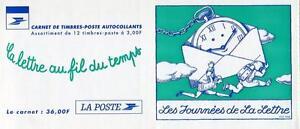23018) France 1998 MNH New Letter Day Booklet Carnets