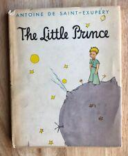 THE LITTLE PRINCE Antoine de Saint-Exupery HB/DJ Harcourt Brace World 1st Thus