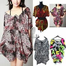 Polyester Batwing, Dolman Sleeve Hand-wash Only Floral Tops & Blouses for Women