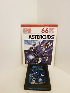 Asteroids + Manual for Atari 2600