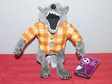 Disney Parks 2020 Nightmare Before Christmas Wolfman Plush New With Tag