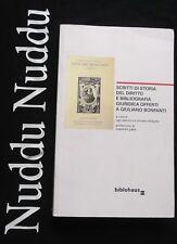 Scritti di storia del diritto e bibliografia giuridica a Giuliano Bonfanti