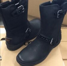 New Ugg Black Jenise Leather Studded Boots Sz 8 Women's- ❤️Special Sale❤️