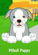 Webkinz Pitbull Puppy ( unused code only ) !CREDIBLE Proven Seller!