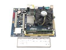 ASRock G31M-VS REV 1.02 socket LGA 775 Motherboard + dual core CPU + 4GB RAM