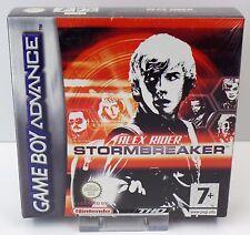 Nintendo Game Boy Advance GBA-Alex Rider Stormbreaker-nuevo New