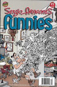 Sergio Aragones Funnies Comic 5 Cover A First Print 2011 Cristescu Hamill Bongo