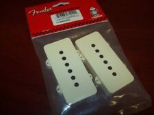 NEW Genuine Fender Pickup Covers (2) For Jazzmaster - AGED WHITE, #005-4442-049