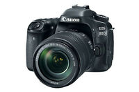 Canon EOS 80d 18-135mm Nano Is USM Lens Kit