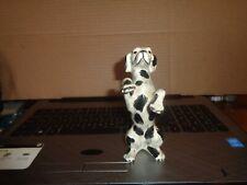 Vintage Dalmatian Dog figurine Begging Ceramic 5.5' Tall