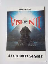 "Vision 2 ""Second Sight"" Rave flyer - 91/92. Top Buzz, Easy Groove, D.J Sy."