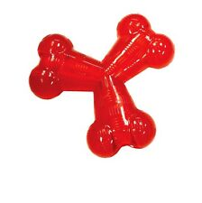 Play Strong Rubber Trident for dog Toy - Heavy weight Rubber 6inch