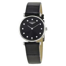 Longines La Grande Classique Black Dial Ladies Watch L4.209.4.58.2