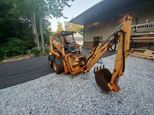 CASE DX100 Backhoe Attachment With Bucket, Good Used & Heavy Duty, WORKS Great