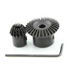 1m-30t-15t Metal Umbrella Tooth Bevel Gear 90° Angle Set Kit Ratio 2 1