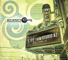 Live From Studio A2 Vol. 3 - Various CD Ann Arbor 107.1 Farrar Gibbard Difranco