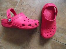 Crocs Rosso-Taglia 13